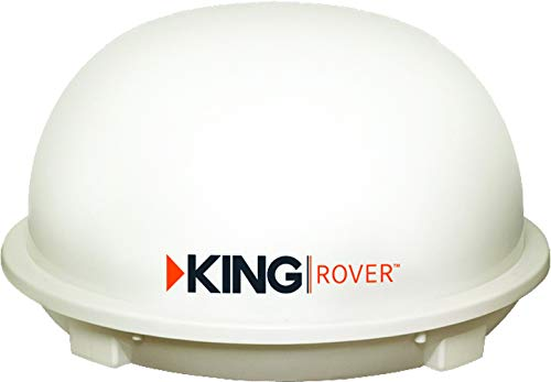 KING KD1500 Rover Automatic HD Satellite TV Antenna (for use with DISH, DIRECTV, or BellTV)