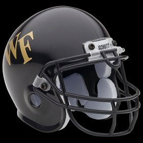 Wake Forest Demon Deacons Schutt Mini Junior Helmet ()