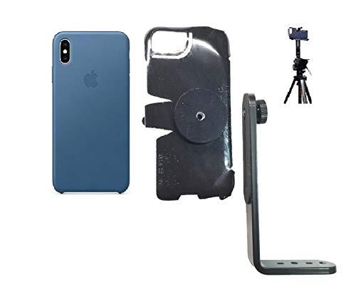 premium selection b18c3 bddd6 Amazon.com: SlipGrip Tripod Mount for Apple iPhone Xs Max Using ...