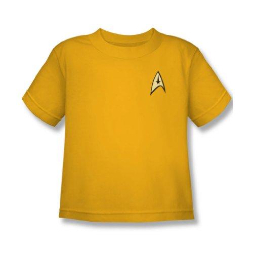 Juvenile: Star Trek - Command Uniform Kids T-Shirt Size 5/6
