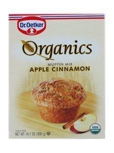 Dr Oetker Organics Organic Apple Cinnamon Muffin Mix (12x14.1 OZ) ( Value Bulk Multi-pack)