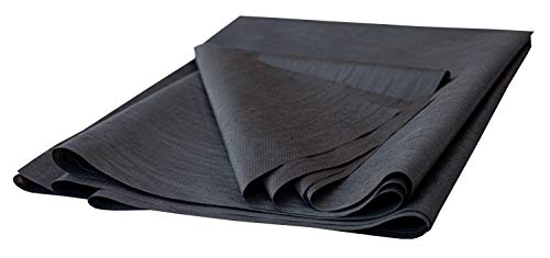 House2Home 40 Inch x 3 Yard Upholstery Black Cambric Dust Cover Fabric Replacement for Sofa Chair Furniture and Twin Box Spring Foundations, Conceals Springs and Webbing Inside Furniture