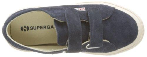 Superga 2750-SUEVJ S0038L0 - Zapatos bajos de cuero para Azul (Blau (Blue 516))