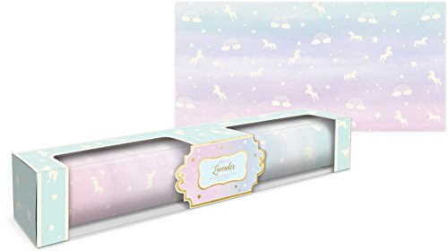 Lady Jayne Unicorn With Stars Lavender Scented Drawer Liners -- 6 Sheets ()