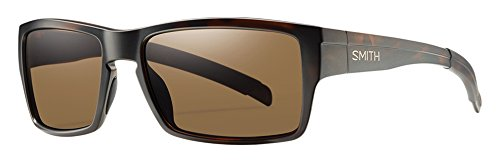 Smith Outlier Sunglasses Matte Tortoise with Polarized Brown Lens by Smith Optics
