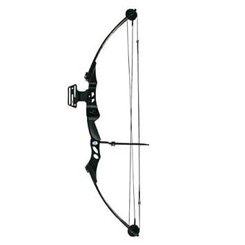 55 Lb Black Archery Hunting Compound Bow Amazon Co Uk Sports