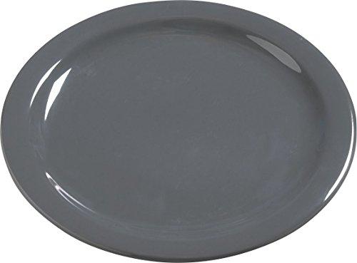 Wide Rim Plates Carlisle (Carlisle 4385040 Dayton Melamine Dinner Plates, 10
