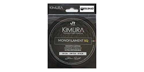 SteelShad Kimura Jim Root Series - Monofilament Fishing Line - 10lb - Plus a Free Steel Shad Fishing Lure - Silver Color