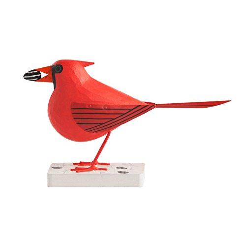 Gold Leaf Design Group Wd2331 M Charley Harper Licensed Cardinal Courtship Male Wood Bird