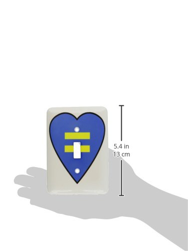 3dRose lsp/_124002/_1 Gay Marriage Gay Rights Gay Equality Symbol Single Toggle Switch