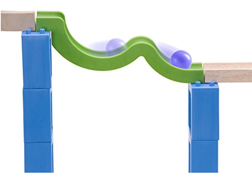 Wonderworld Creative Gravity Play! Trix Tracks Bouncing Spiral Track - 36 Piece Set Unique Kids Toy with Endless Building Options by Wonderworld (Image #7)