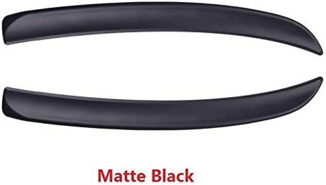 JPLLYY 車のためのM-I-N-C-O-O-P-E-R F56のF55のF57エクステリアスタイリングアクセサリースポイラーのための車のテールスポイラーExtenstion (Color : ブラック, Size : フリー)