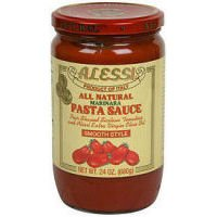 ALESSI SAUCE MARINARA SMOOTH, 24 OZ