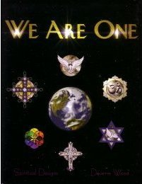 WE ARE ONE Stained Glass Pattern Book - 1 Stained Wood