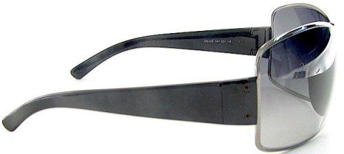 a0f436be7d5 New Prada Sunglasses Sps 50E Sps50E 5Av-5D1 Soft 125 Black Lens Black Frame   Amazon.co.uk  Clothing