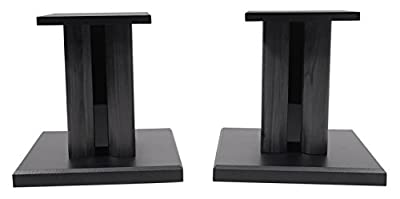 (2) Technical Pro 8 Studio Monitor Bookshelf Computer Multimedia Speaker Stands by TECHNICAL PRO