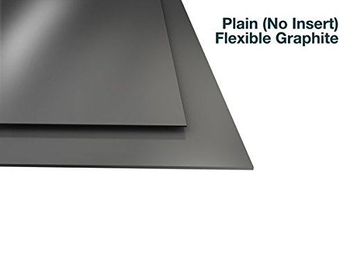 """Flexible Graphite with No Insert - 1/16"""" Thick - 8.25"""" x 9.5"""" Sheet"""