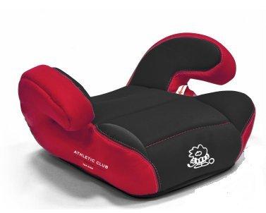 Babyauto Alzador Booster Zarautz Deluxe Athletic Athletic Rojo Negro ROJONEGRO