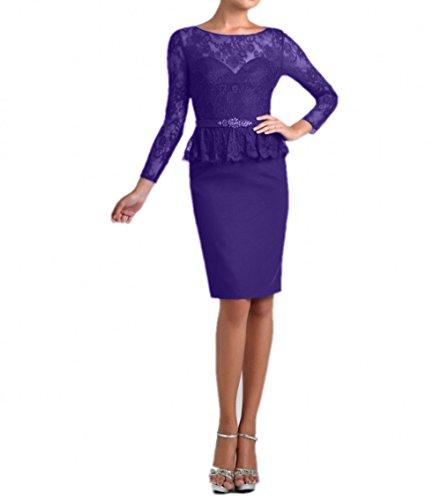 Brautmutterkleider Festlichkleider Abendkleider Kurz Langarm Charmant Blau  Regency Etuikleider Damen Spitze Knielang qw8S0Y Brautmutterkleider ... c0c3a0d1e3