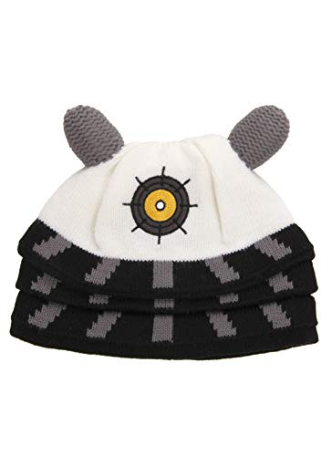 Doctor Who Costumes For Adults (Elope Doctor Who Dalek Costume Knit Beanie)
