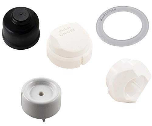 Button Kit for 3 Position Control Panel On/Off Button Replacement in Oyster by Jacuzzi Whirlpool Bath
