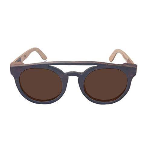 Óculos de sol de madeira Leaf Eco Eleanor/Imbuia Maple