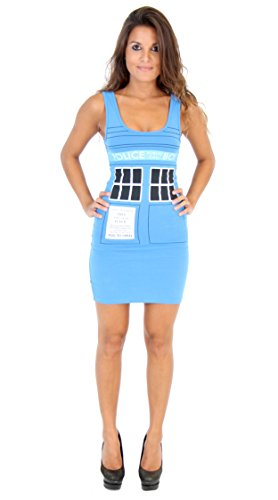 Doctor Who & The Dalek TARDIS Juniors Blue