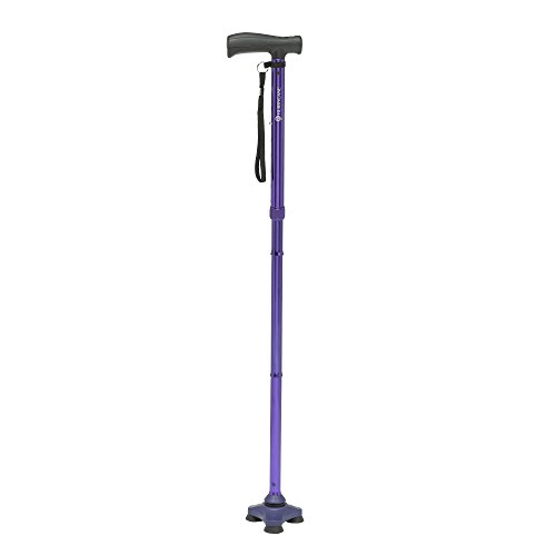 ition Folding Cane with T Handle, Pathfinder Purple ()