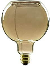 Segula LED Filament Lamp - Floating Design Globe 125mm - rookgrijs - dimbaar - E27, 50056, smokey grijs