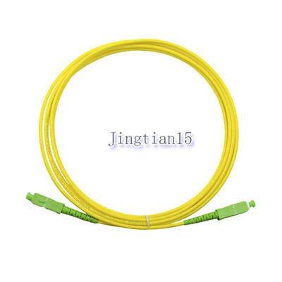 FidgetFidget Jumper Cable SCAPC-SC/APC 9/125 Fiber Patch Cord, Singlemode 3M/5M/10M/15M 10M