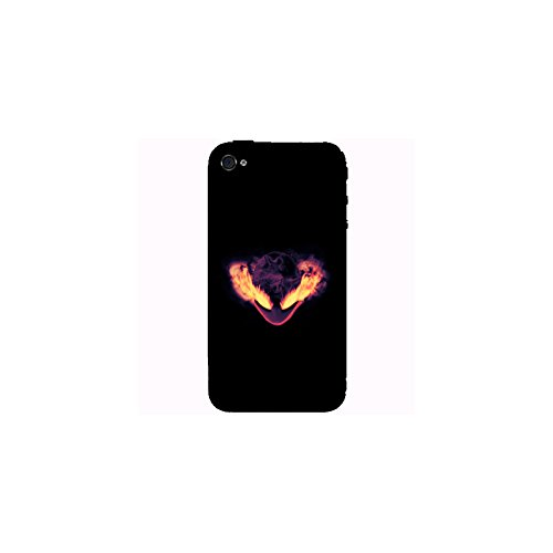 Coque Apple Iphone 4-4s - Alien en feu