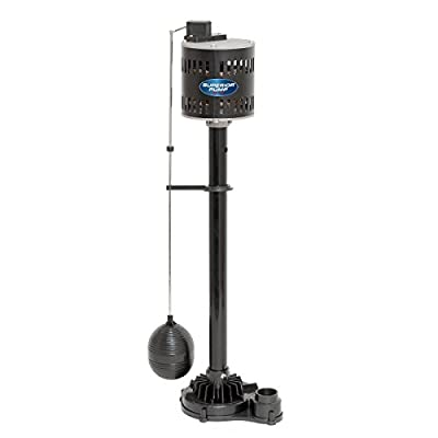 Superior Pump 92301 1/3 HP Cast Iron Pedestal Pump