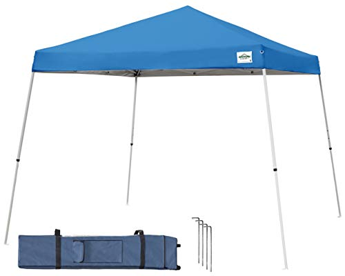 (Caravan Canopy V-Series 2 Slant Leg 12 X 12 Foot Canopy Kit, Blue)