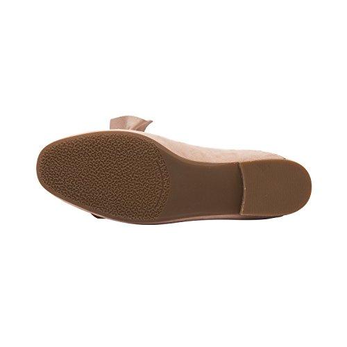 ... Pic / Betale Dakota | Womens Bue Utsmykket Slip-on Komfortabel  Dagdriver Mule Skinn Semsket ...