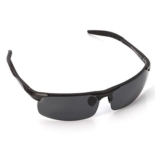 Negro 012 gafas de al Logres gafas aire de para 1 sol pesca hombre par conducción libre para deportes wqIxUTIta