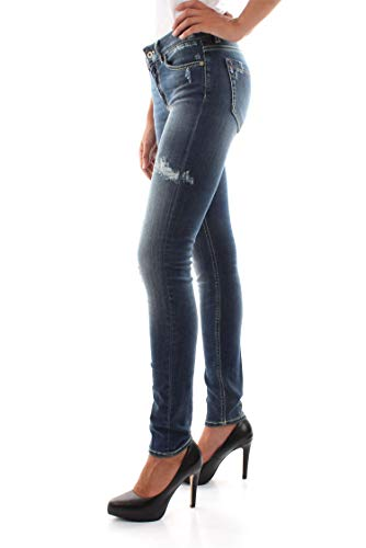 Vaqueros Denim Medium Mujer P990 Dondup T60g Tara Ds0112d Blue xwBIFfqY