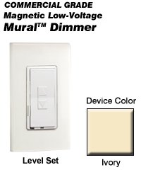 MRM10-1LI Leviton Decora Mural Digital Rocker ()