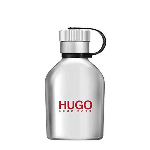 HUGO Iced Eau de Toilette - Fragrance for Men, 2.5 Fl Oz
