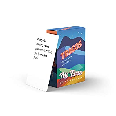 Tragos Party Game for Latinos - Relatable Funny Drinking Card Game for Adults - Juegos De Mesa Para Adultos (Expansion Pack): Kitchen & Dining