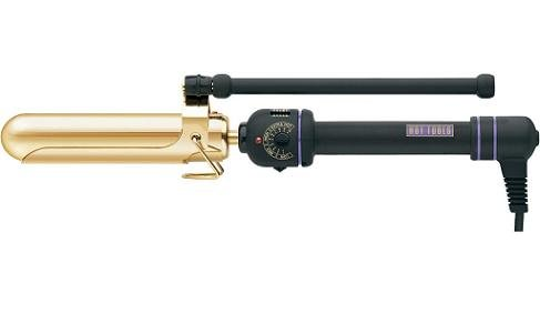 Hot Tools Professional 24K gold-plated Marcel Grip Curling Iron - Bed Inch 2 Iron Head Curling