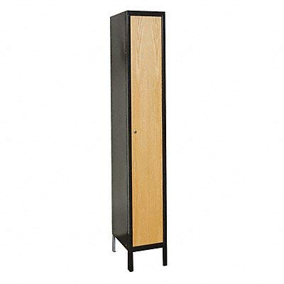 (Hallowell UW1588-1A-MEW Hybrid Wardrobe Wood Locker, Fully-Assembled, Single Tier, 1-Wide Grouping, 15