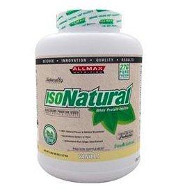 AllMax IsoNatural Vanilla 5 lbs product image