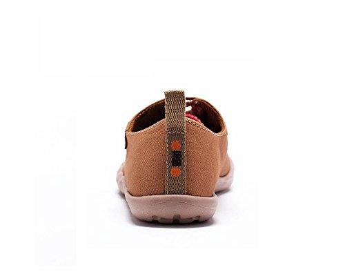 Pour De Chaussures Enfant Età La petit Enfant Casual Marron Mode Uin boy Cow Toiles tBxwBv6q
