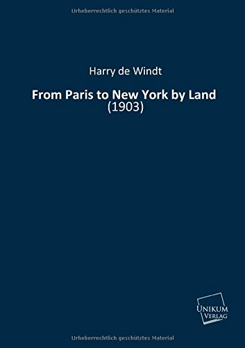 From Paris to New York by Land PDF