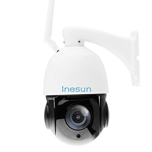 Inesun Outdoor Wireless Security Camera Hd 1080p Wifi Ip