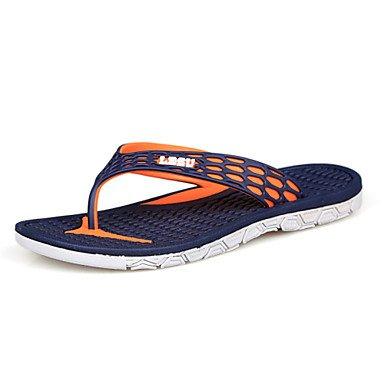 Sandalias de verano zapatos de hombre casual sandalias sintéticas exteriores / Azul / Rojo / Azul / Marina Green