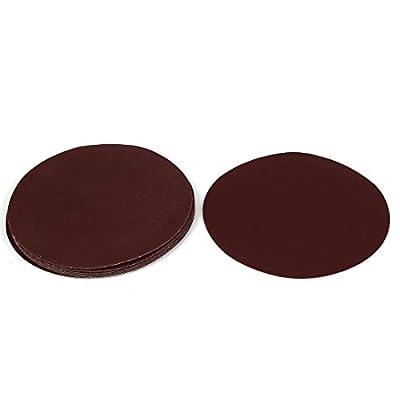 uxcell 6-inch Dia Abrasive Sanding Sandpaper Sheet Disc 180 Grit 10 Pcs
