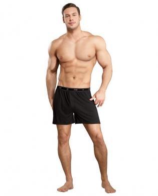 Comme-Ci-Comme-Ca-Bamboo-Boxer-Short-Black-Medium