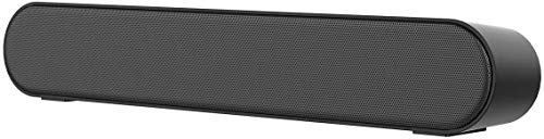 LENRUE PC Soundbar Stereo Bluetooth Sound Bar with Mic AUX/RCA FM Function, USB, Micro SD Card Support for Projector, Tablet, PC, Desktop, Smartphone, TV(No Remote)