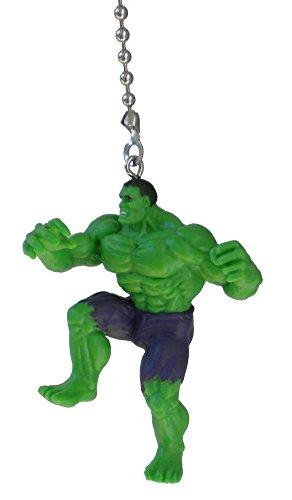 Price comparison product image DC & Marvel comics SUPER HERO superhero character Ceiling FAN PULL light chain (The Hulk)
